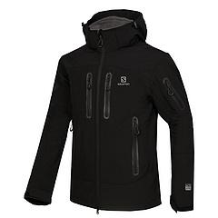 casaco de campo Desconto O envio gratuito de homens ao ar livre de acampamento caminhadas jaqueta de esportes blusão casaco macio casaco ao ar livre