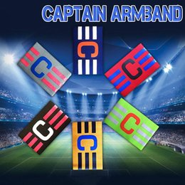 Professional Football Yoga Captain Armband Competition Soccer Arm Band Leader Sports Stick Twine Adjustable High Quality от Поставщики синий пояс упражнений