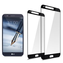 Wholesale lg optimus screen - For LG Airto 2 9H 2.5D Tempered Glass Screen Protector Explosion Proof Protective for LG Fortune2 Stylo 3 Plus X Charge Packging Aicoo