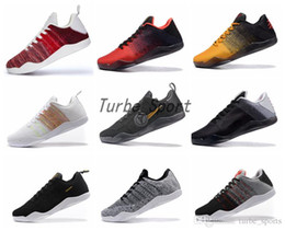 Wholesale Kb Shoes Elite - 2018 High Quality Kobe 11 Elite Men Basketball Shoes Kobe 11 Red Horse Oreo Sneakers KB 11 Sports Sneakers With Shoes Box