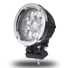 2019 foco led 4x4 redondo 5.5 pulgadas de luz 45W LED trabajo ligero punto combinado combinado para maquinaria todoterreno 4WD ATV SUV Camión 4x4 conduciendo faros antiniebla Lámparas foco led 4x4 redondo baratos