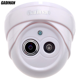 Wholesale Indoor Cctv Dome Camera - Gadinan 960P 25FPS 1.8mm Lens Ultra Wide Angle 120 Degree Dome Security Camera IP Camera Indoor CCTV ONVIF Phone View