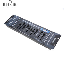 Wholesale Dmx512 Disco - 192 Channels Stage Light DMX512 Wireless Controller Console with Transmitter Party DJ Disco Operator Stage Equipment Controller