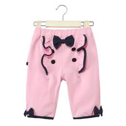 Wholesale Support Pants - Hot children's clothing wholesale girl children's trousers children's pants han version cotton support a generation summer