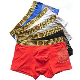 btshop 2018 pantalones al por mayor de los hombres de alta calidad de algodón ropa interior de algodón adecuado corto guapo hombres boxeadores envío de la gota libre desde fabricantes