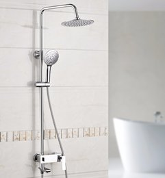 Wholesale Faucet System - Xogolo Luxury Shower System Rainfall Shower Head Wall Mounted, Coming with Two-Function Handshower, Traditional Faucet, 18031A