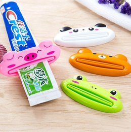 Dentifrice animal en Ligne-Extracteur LX4037 de distributeur de pâte de dentifrice de bande dessinée de distributeur multifonctionnel animal mignon