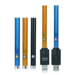 Batteria monouso e cig online-Pulsante penna vape O penna BUD 280mAh CE3 vaporizzatore 510 cartucce G2 monouso e sigarette elettroniche cig vapore PK Batteria a preriscaldamento a tensione variabile