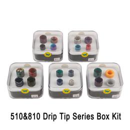 2019 Aleader 810510 Drip Tip Series Kit Boîte Résine En Nid D'abeille En Peau De Serpent Coloré Cobra Vape Drip Tip Fit Pour TFV8 TFV8 Bébé TFV12 ? partir de fabricateur