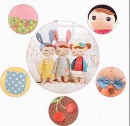Wholesale angela plush toys metoo stuffed - METOO Plush Stuffed Animal Cartoon Kids Toys for Girls Children Baby Birthday Christmas Gift Angela Rabbit TOY 34CM KKA3645
