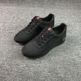 Wholesale Narrow Men Shoes - Major Suit Man Casual Shoes Net Cloth Cowhide Split Joint Flange Sneakers Ventilation Male Shoe