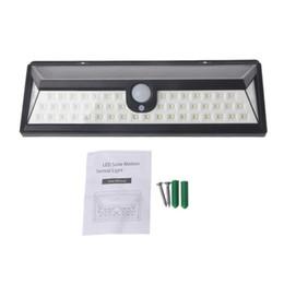 Wholesale Garden Solar Lights Battery - NEW LED Solar light Waterproof 90LED Solar Outdoor Light IP65 3.7V 2200mAh Lithium Battery solar lamp panel for Emergency