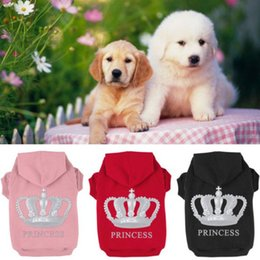 Wholesale Dog Clothes Size Medium - Small Pet Dog Winter Clothes Hoodie Puppy Warm Coat Clothing Costume Plus Size For Dog