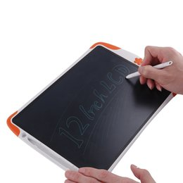 Wholesale Electronic Tools - 12inch Drawing Board Notepad Electronic Drawing Tablet Children Drawing tool Children Gifts LCD Writing Tablet 2107448