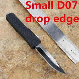 Combate Troodon D07 Doble acción hacia fuera Los cuchillos automáticos delanteros Katana Tri-Grip Pocket Knife con vaina A07 desde fabricantes