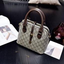 Wholesale Metallic Laptop - Factory wholesale brand bag classic style handbag fashion premium leather color woman laptop shell bag casual Shoulder Messenger Bag
