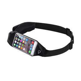 Модный ремень онлайн-Running Bags Outdoor Sports Running Belt Phone Waist Bag Case Waterproof Hip Pouch Wallet Pocket Purse Gym Bag