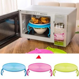 Wholesale Steaming Rack - Microwave Steam Rack Plastic Layered Dish Tray Anti Scald Multipurpose Insulated Steaming Racks Bowls Shelving Layered tray