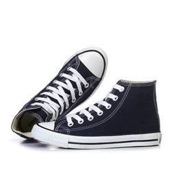 Wholesale Stock Brand Shoes - Brand New Star Canvas Shoes Women And Men's Unisex High And Low Lovers Casual Shoes All In Stock !