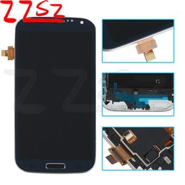 Wholesale I545 Screen - TFT Brightness adjustable For Samsung Galaxy S4 i9500 i9505 I545 I337 M919 L720 Lcd Digitizer Displaiy Screen Assembly Free Shipping DHL