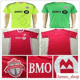 38bdee413 2018 2019 Toronto FC Soccer Jersey 4 BRADLEY 10 GIOVINCO 17 ALTIDORE 21  OSORIO Home Red Away Customize 18 19 Football Shirt Uniform
