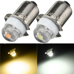 Wholesale Lamp 3v - New LED For Focus Flashlight Replacement Bulb P13.5S PR2 0.5W led Torches Work Light Lamp 60-100Lumen Pure Warm White DC 3V 4.5V 6V