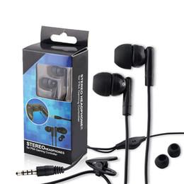 2019 écouteurs intra-auriculaires Ecouteurs filaires intra-auriculaires Microphone Clip Casque pour PS4 Xbox One Gamepad écouteurs intra-auriculaires pas cher