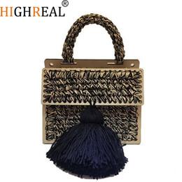 Discount pink channel - Brand Crossbody Bags For Women Luxury Handbags Women Bags Designer Messenger Bag Wool bolsa feminina Channels Women Tassel