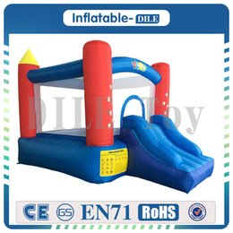 Wholesale bouncy castles - Free Shipping Residential Children Inflatable Bouncy Castle Inflatable Bouncer Outdoor and Indoor Sports Games Special For Sport