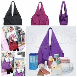 Wholesale baby ladies diapers - ladies handbag shoulder bag outdoor Mummy Diaper bag manufacturers Baby Diaper Bags Nappy Shoulder Bag LJJK1018