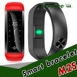 xiaomi m2s Coupons - 20X M2S Sport Smartband LED Blood Pressure Watch Blood Oxygen Heart Rate Monitor Smart Bracelet Weather Riding Running PK xiaomi mi band