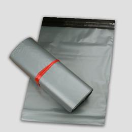 Sacolas de mala escola on-line-Prata Poli Mailer Mailing Bag Organizador Bolsas De Armazenamento De Plástico De Plástico Embalagem Saco Envelope Express