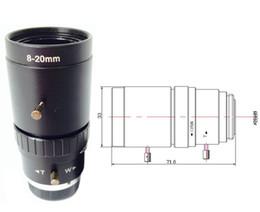 8-20mm HD seguridad vigilancia en carretera manual iris cámara video vigilancia cctv lente video vigilancia desde fabricantes