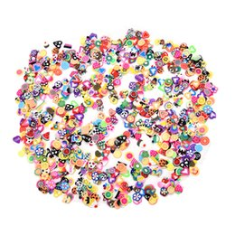 clay decor Coupons - Hot 1000PCS Bag Nail Art Sticker Tips Fashion Manicure DIY Polymer Clay Fruit Decor Craft Tools Party Beauty Gift New