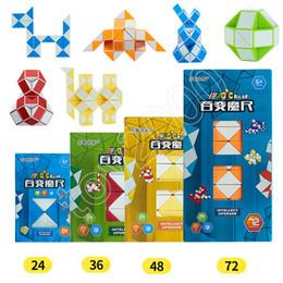 Crianças cobra on-line-BestSeller Magic Cube Régua Quebra-cabeças 3D Snake Forma Régua Brinquedos Jogo Mini 3D Cube PuzzleToys Inteligente Inteligência Torção crianças Brinquedos Jogos