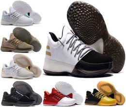 Wholesale Athletic Shoes History - with box Harden Vol. 1 Men Basketball Shoes BHM Black History Month James Harden Shoes Outdoor men Sport shoe Athletic Sneaker us 7-12