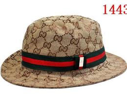 Wholesale men visors - High quality Brand Designer luxury Letter Bucket Hat For Men Women Foldable Caps Black Fisherman Beach Sun Visor Sale Folding Man Bowler Cap