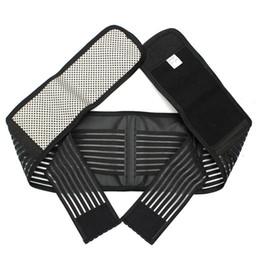 Wholesale Self Heating Tourmaline - Hot Adjustable Self Heating Tourmaline Protection Magnetic Therapy Backache Lower Back Waist Support Brace Belt Pain Relief