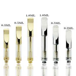 2019 v tipps 92A3 Vape-Patronen Leere Vaporizer-Pen-Patronen Flache Tropfspitze 92A3 Vape-Pens passen in eine 510-V-Batterie günstig v tipps