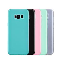 Argentina Yokata color funda suave para samsung galaxy s8 s8 plus estuche ultra fino para menta verde rosa cubierta trasera para samsung S8plus Suministro