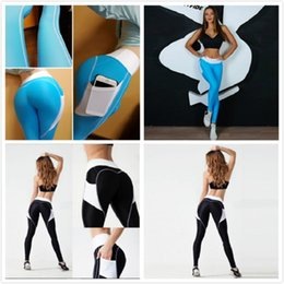 Wholesale Workout Pants For Women - Sportswear Yoga Pants Fitness Yoga Leggings Push Up Running Sport Tights Women Workout Yoga Clothing Activewear for Women black blue in stoc
