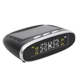 VODOOL Solaire Puissance Sans Fil TPMS Système de Surveillance de Pression des Pneus avec 4 Capteurs Internes Auto Systèmes d'Alarme de Sécurité de Haute Qualité ? partir de fabricateur