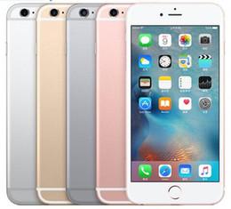 samsung разблокированные телефоны gsm Скидка Unlocked Original iPhone 6s plus Без отпечатков пальцев IOS Dual Core 12.0MP Camera 2GM RAM 16/64 / 128GB ROM 4G LTE отремонтированный мобильный телефон