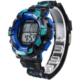 relógio de relógio à prova d'água Desconto Honhx marca de luxo mens sports relógios menino dos homens à prova d 'água lcd digital cronômetro cronômetro data relógio de pulso de borracha relógio quente