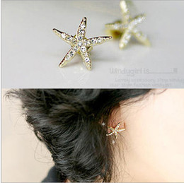 Wholesale Diamond Nail Stud - Korean edition jewelry earrings wholesale and simple sweet and sweet full diamond ear nail small merchandise.