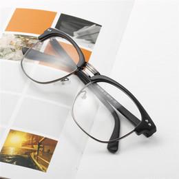 be7e091ec falsas gafas de las mujeres Rebajas Retro Vintage Fake Miopía Gafas Lente Transparente  Gafas Marcos Para