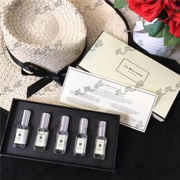 Wholesale free samples perfume - Jo Malone London 5 smell type perfume 9ml*5 sample size kit high qulity free shipping by DHL