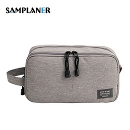 3ae5990777 Discount camouflage toiletry bag - Samplaner Men Women Cosmetic Case Travel Makeup  Bags Necessaries Pouch Toiletry