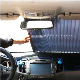 155cm * 70cm Pare-brise de voiture Pare-soleil Pare-soleil rétractable auto Protection solaire pare-soleil Rideau pare-brise ? partir de fabricateur
