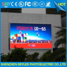 2019 módulo de visualización de pantalla led SRY P10 al aire libre a prueba de agua 1R1G1B a todo color llevó la pantalla led módulo pantallas pantallas 320x160 mm módulo de visualización de pantalla led baratos